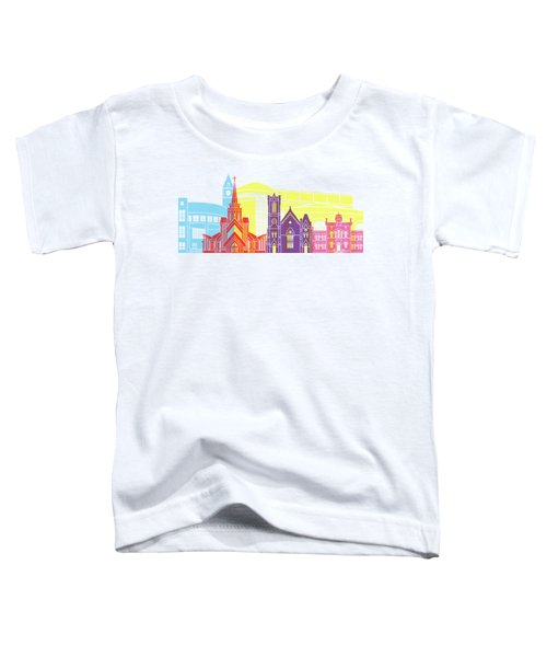 Brampton Skyline Pop Toddler T-Shirt