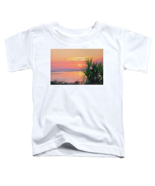 Breach Inlet Sunrise Palmetto  Toddler T-Shirt