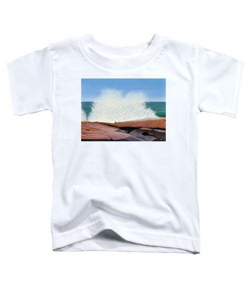 Breakers On Georgian Bay Toddler T-Shirt