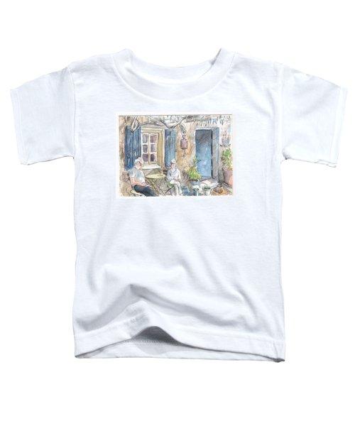 Breakfast Al Fresco Toddler T-Shirt