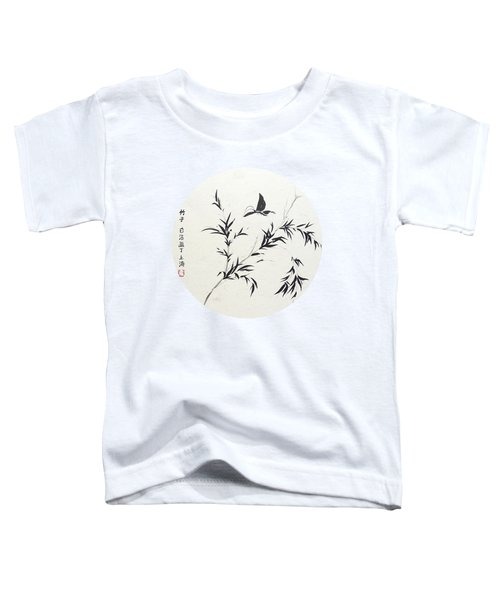 Breeze Of Spring - Round Toddler T-Shirt