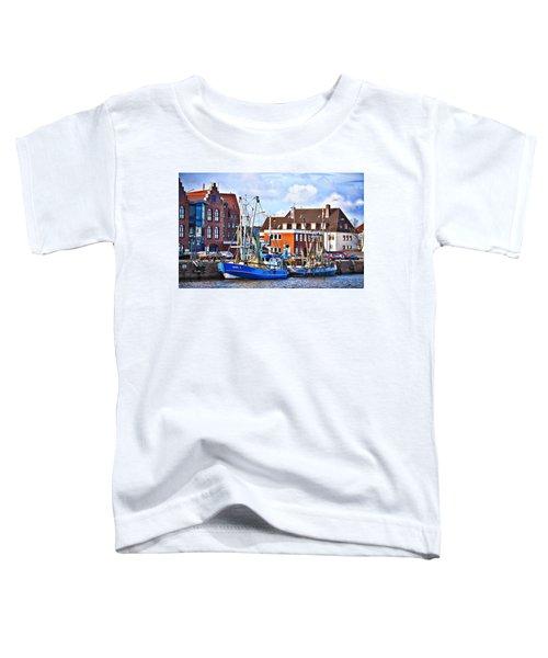 Bremerhaven Harbor, Germany Toddler T-Shirt