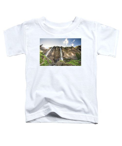 Toddler T-Shirt featuring the photograph Bridal Veil Falls by Whit Richardson