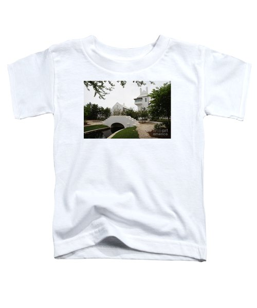 Bridge In Alys Beach Toddler T-Shirt by Megan Cohen