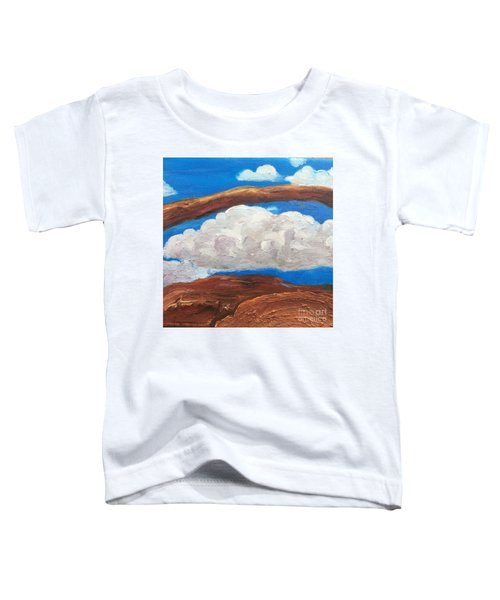 Bridge Over Clouds Toddler T-Shirt