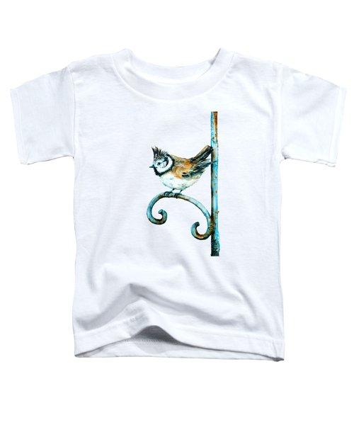 Bridled Titmouse Toddler T-Shirt