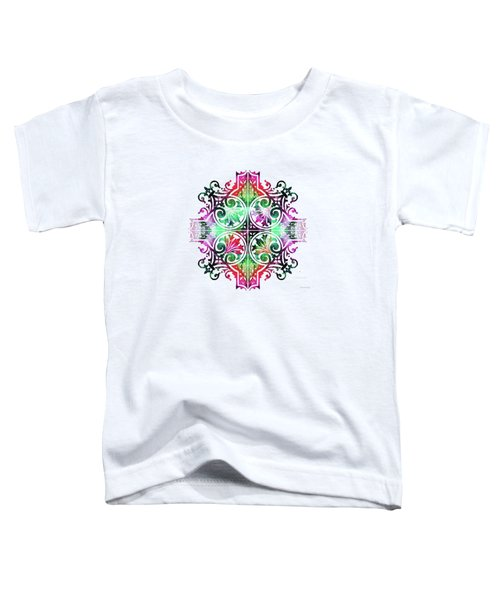 Bright Pattern Art - Color Fusion Design 9 By Sharon Cummings Toddler T-Shirt