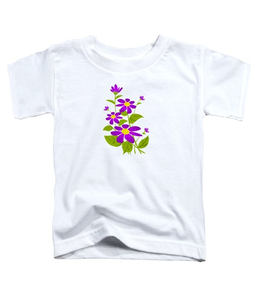 Bright Purple Toddler T-Shirt