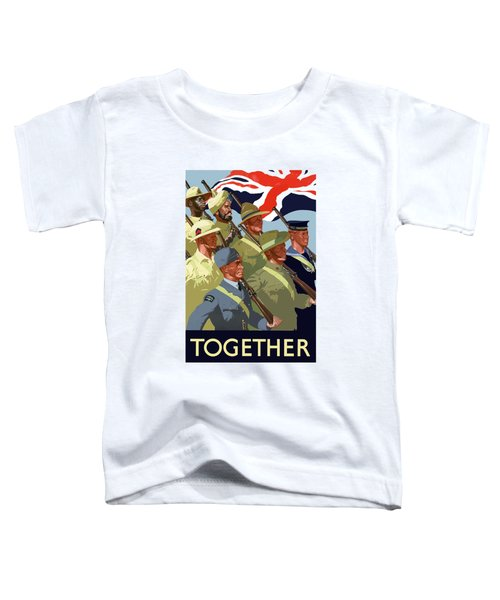 British Empire Soldiers Together Toddler T-Shirt