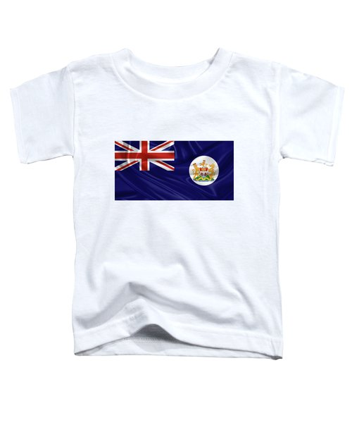 British Hong Kong Flag Toddler T-Shirt by Serge Averbukh