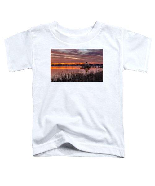 Brittlebank Park Dock Charleston Sc Toddler T-Shirt
