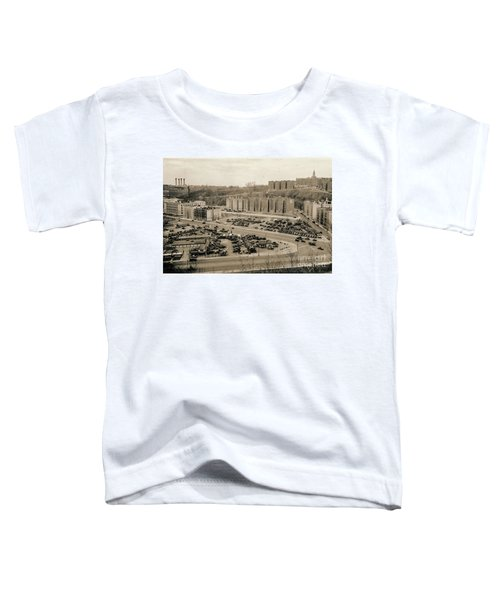 Broadway And Nagle Ave 1936 Toddler T-Shirt by Cole Thompson