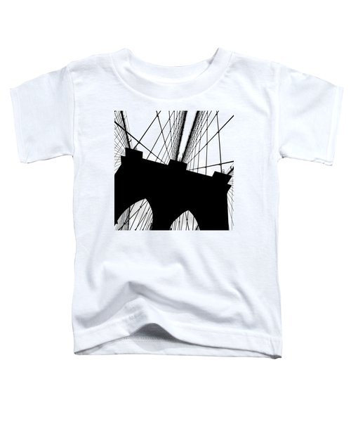 Brooklyn Bridge Architectural View Toddler T-Shirt