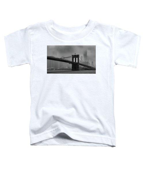 Brooklyn Bridge In A Storm 2 Toddler T-Shirt