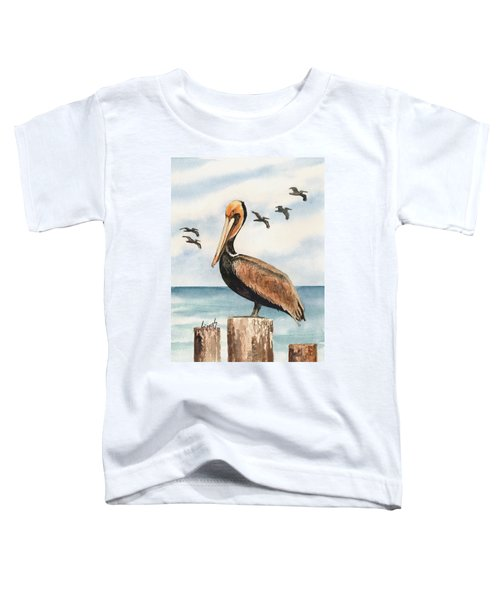 Brown Pelicans Toddler T-Shirt