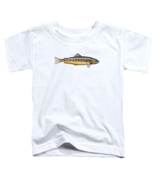 Brown Trout - Autochthonous - Indigenous - Salmo Trutta Morpha Fario - Salmo Trutta Fario Toddler T-Shirt