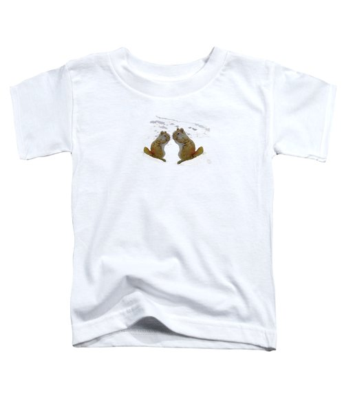 Brrr Just Chillin Toddler T-Shirt