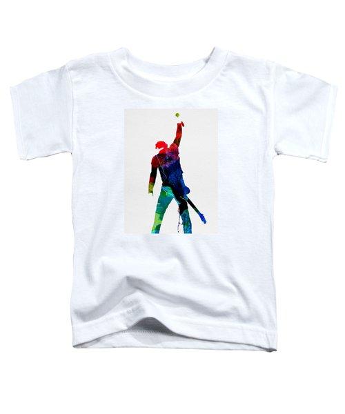 Bruce Watercolor Toddler T-Shirt