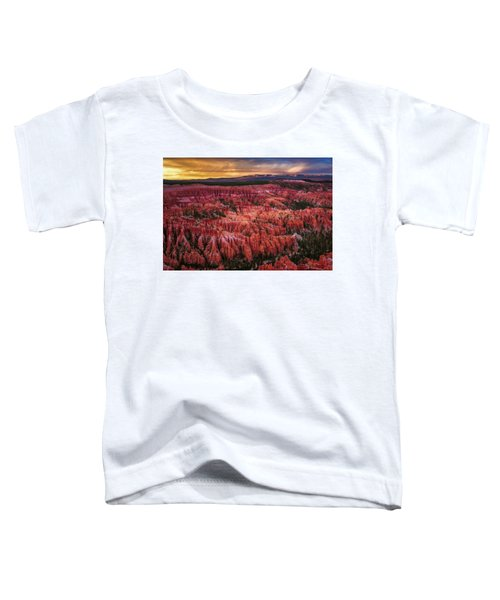 Bryce Canyon In The Glow Of Sunset Toddler T-Shirt
