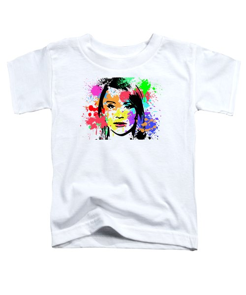 Bryce Dallas Howard Pop Art Toddler T-Shirt