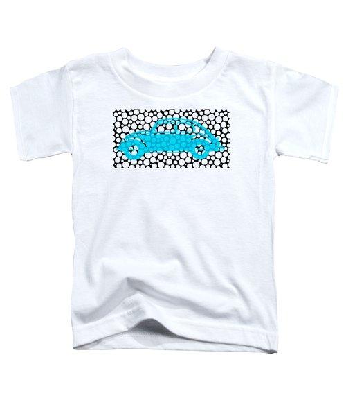Bubble Car Vw Beetle Toddler T-Shirt by Edward Fielding