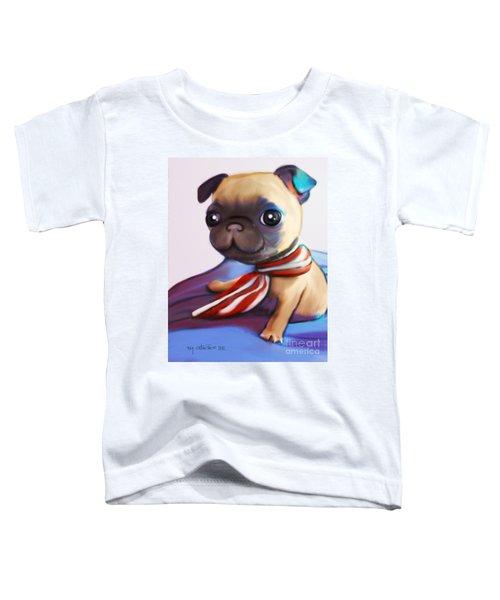 Buddy The Pug Toddler T-Shirt