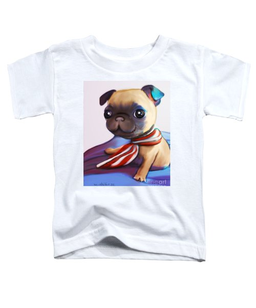 Buddy The Pug Toddler T-Shirt