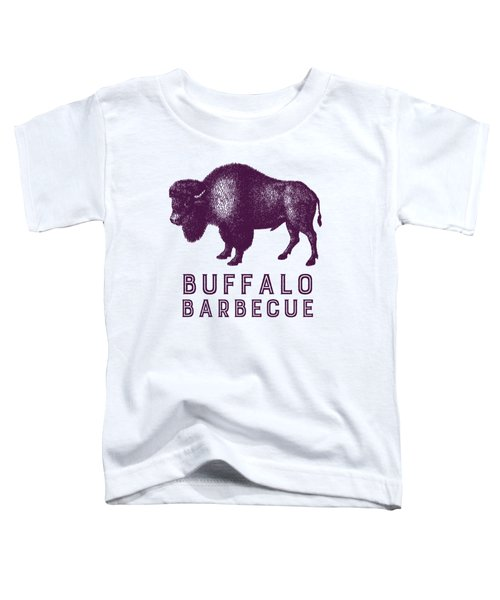 Buffalo Barbecue Toddler T-Shirt by Antique Images