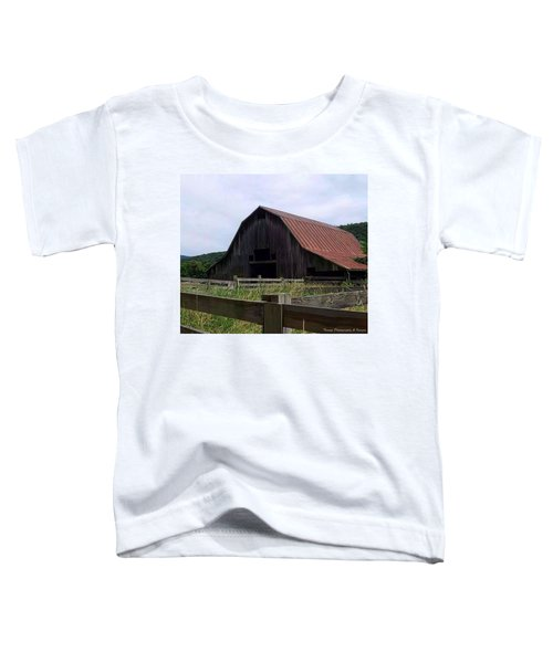 Buffalo River Barn Toddler T-Shirt
