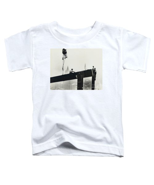 Building The Empire State Building Toddler T-Shirt