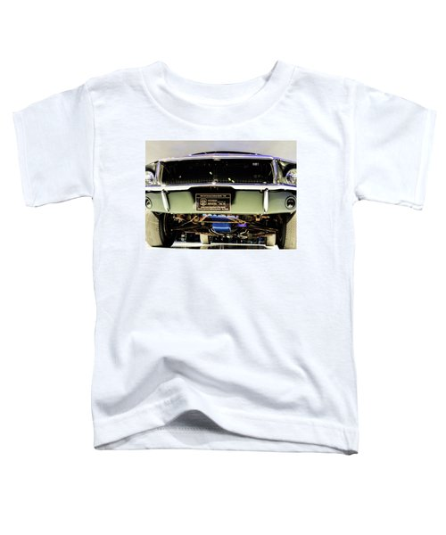 Bulitt Front View Toddler T-Shirt