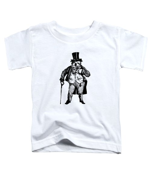 Bull Dog Grandville Transparent Background Toddler T-Shirt