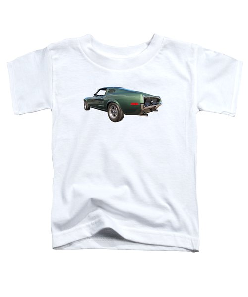 Bullitt - 1968 Mustang Fastback Toddler T-Shirt