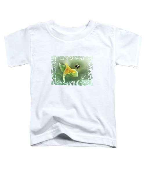 Bumblebee And Nasturtium 2 Toddler T-Shirt