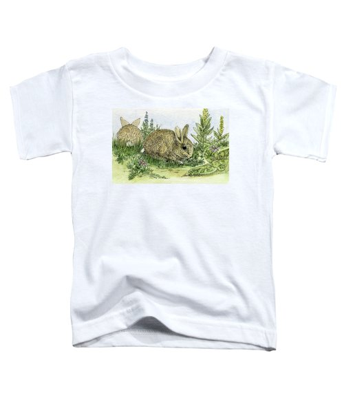 Bunnies Toddler T-Shirt