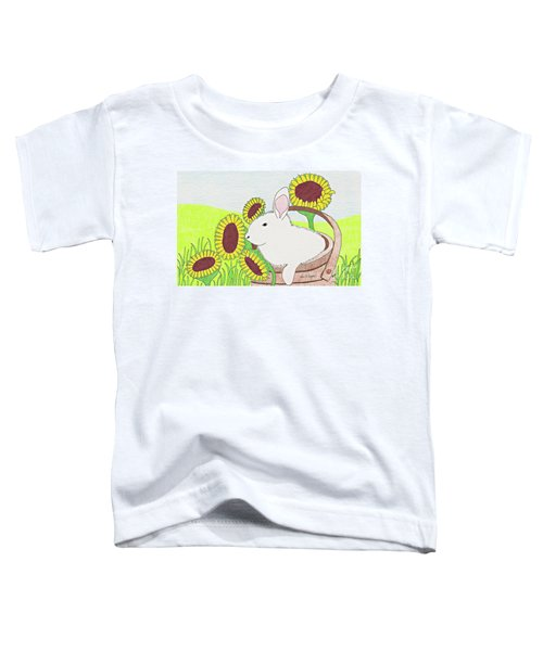 Bunny In A Basket Toddler T-Shirt