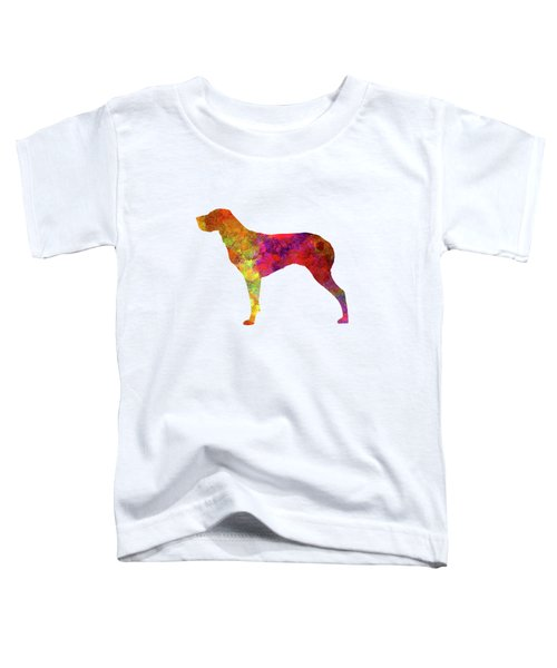 Burgos Pointer In Watercolor Toddler T-Shirt by Pablo Romero