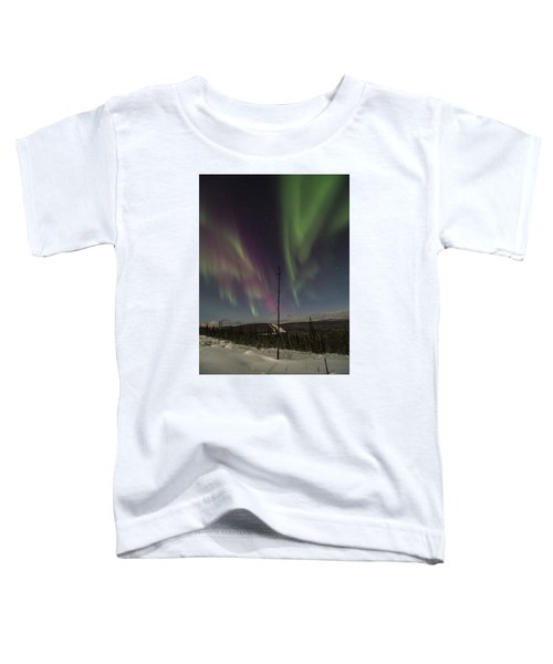 Butterfly Aurora Toddler T-Shirt