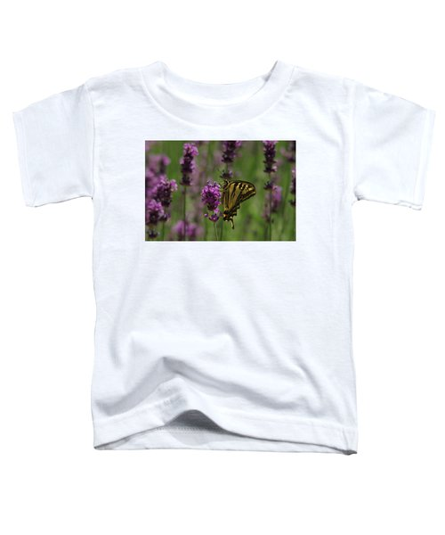 Butterfly Balancing Act Toddler T-Shirt