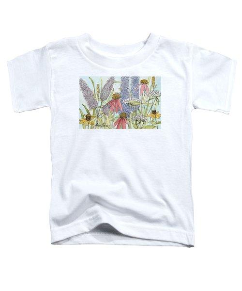 Butterfly Bush In Garden Toddler T-Shirt