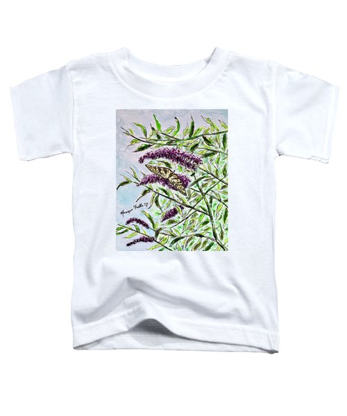 Butterfly Bush Toddler T-Shirt