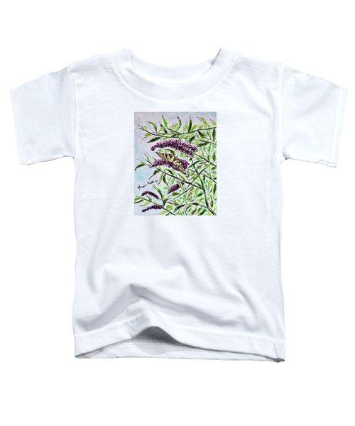 Butterfly Bush Toddler T-Shirt