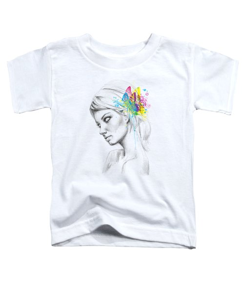 Butterfly Queen Toddler T-Shirt