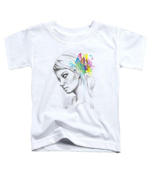 Butterfly Queen Toddler T-Shirt