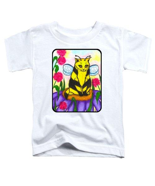 Buzz Bumble Bee Fairy Cat Toddler T-Shirt