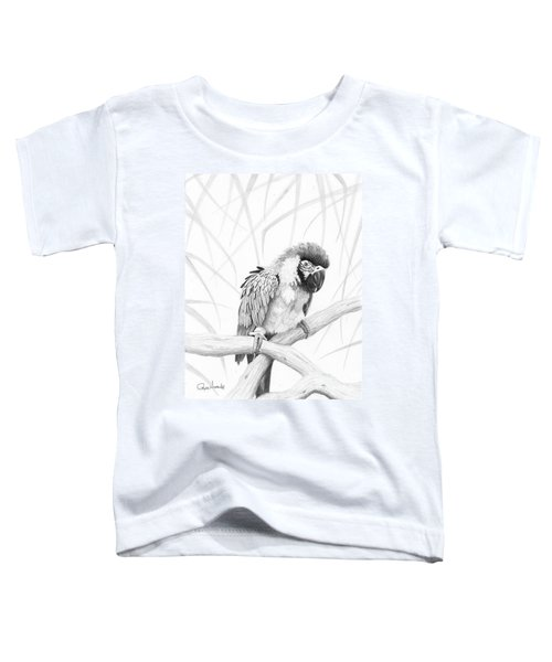 Bw Parrot Toddler T-Shirt