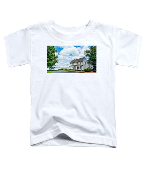 By The Water In Oxford Md Toddler T-Shirt