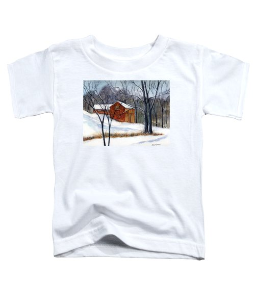 Cabin In The Woods Toddler T-Shirt