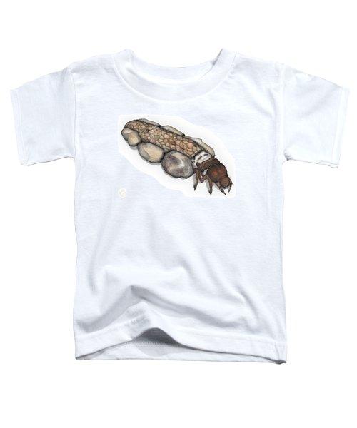 Caddisfly Larva Nymph Goeridae_silo_pallipes -  Toddler T-Shirt