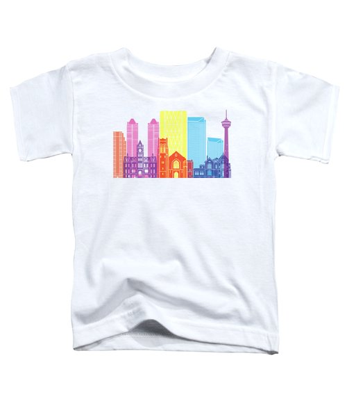 Calgary V2 Skyline Pop Toddler T-Shirt